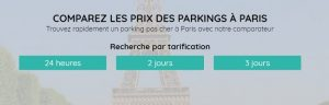 parking paris pas cher