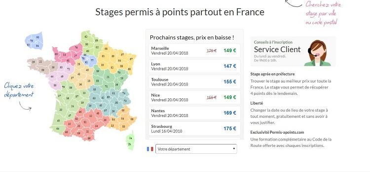 stage de récupération de points Saint-Étienne