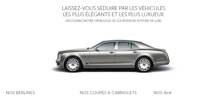 location cabriolet neuilly