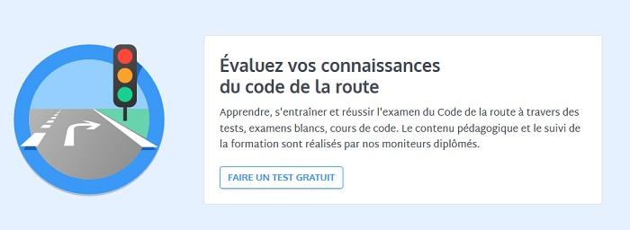 QCM code de la route avec correction
